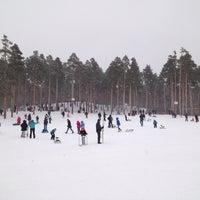 "Photo taken at Лыжная База МУП СОК ""Калининец"" by Pavel M. on 1/2/2014"