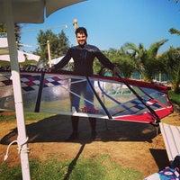 Photo taken at Tony Frey Windsurfing Club by Dimitris M. on 10/27/2013