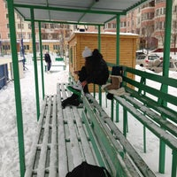 Photo taken at Двор by Аня М. on 1/13/2013