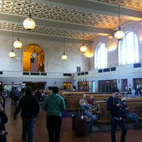 Photo taken at New Haven Union Station (NHV) - Metro North/Amtrak/Shore Line East by Bernhard Y. on 5/26/2013