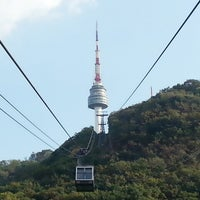 Photo taken at Namsan Cable Car by Seon Kyeong L. on 10/7/2012