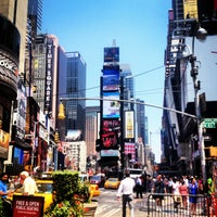 Photo taken at Times Square by Tanya L. on 7/17/2013