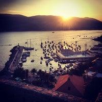 Photo taken at Herceg-Novi by Sergey R. on 8/23/2013