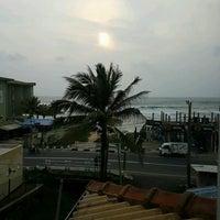 Photo taken at Rosand Waves Hikkaduwa by Banu A. on 10/20/2016