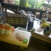 Photo taken at Nobori Japanese Restaurant by Georgiana P. on 5/19/2014