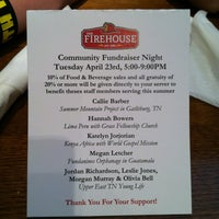 Photo taken at The Firehouse Restaurant by Jason L. on 4/23/2013