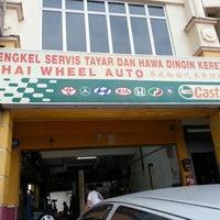 Photo taken at Chai Wheel Auto by SH L. on 1/24/2013