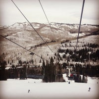 Photo taken at Solitude Mountain Resort by Ninja J. on 12/22/2012