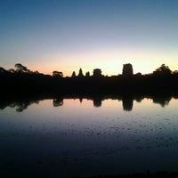 Photo taken at Angkor Wat by Bernie B. on 12/17/2012