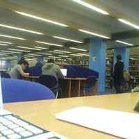 Photo taken at The University of Manchester Main Library by Arslan A. on 11/11/2012