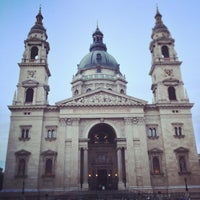 Photo taken at St. Stephen's Basilica by Sebastian F. on 4/30/2013