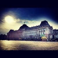Photo taken at Paleizenplein / Place des Palais by Sebastian F. on 10/15/2012