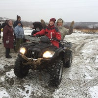 Photo taken at река Кола by Ivan on 11/1/2015