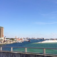 Photo taken at Destin Bay by Words and Nosh on 12/26/2012