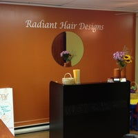 Photo taken at Radiant Hair Design And Day Spa by Michele W. on 10/2/2012