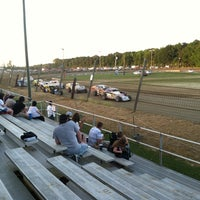 Photo taken at Delaware International Speedway by Dan S. on 6/2/2013