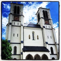 Photo taken at Calvary Chapel Salzburg by Pablo F. on 5/22/2013
