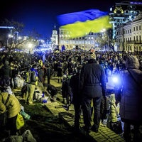 Photo taken at михайловская церковь by aleksandr K. on 12/1/2013