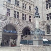 Photo taken at Burgplatz by Andrey M. on 9/22/2012