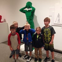 Photo taken at Yellowstone Art Museum by Julie S. on 9/18/2014