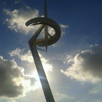 9/16/2012 tarihinde Michelle V.ziyaretçi tarafından Anella Olímpica'de çekilen fotoğraf