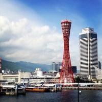 Photo taken at Kobe Port Tower by Shinichi K. on 5/20/2013