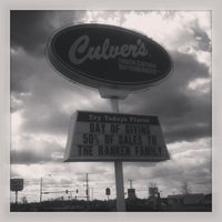 Photo taken at Culver's by Mallory S. on 4/2/2013