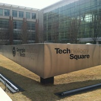 Photo taken at Technology Square by Stacy F. on 3/10/2013