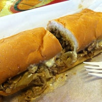 Photo taken at Woody's Famous CheeseSteaks by Stacy F. on 4/20/2013