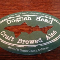 Photo taken at Dogfish Head Alehouse by Dennis G. on 3/9/2013