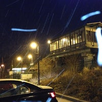 Photo taken at LIRR - Medford Station by Mikel K. on 12/17/2013