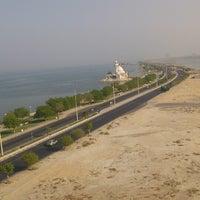 Photo taken at Kournich Towers (Sea view) ابراج الكورنيش by Aziz M. on 2/23/2014