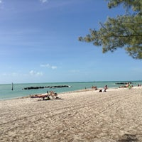Photo taken at Fort Zachary Taylor State Park Beach by Thiago C. on 1/11/2013