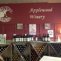 Photo taken at Applewood Orchards & Winery by Elizabeth M. on 4/13/2013