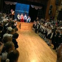 Photo taken at Гимназия № 654 им. А. Д. Фридмана by Даня В. on 10/17/2014