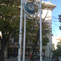 Photo taken at Часовникът (The City Clock) by Vicky on 10/19/2012