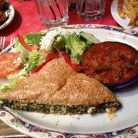 Photo taken at Paymon's Mediterranean Cafe & Hookah Lounge by Natasha S. on 5/7/2013