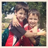 Photo taken at Stoddert Soccer @ Carter Baron Fields by Adina L. on 9/22/2012