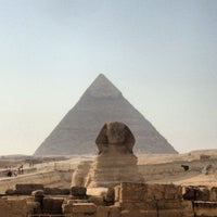 Photo taken at Great Sphinx of Giza by Alessandro G. on 10/30/2012