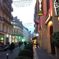 Photo taken at Cadet Opéra Hôtel by Kris A. on 11/27/2014