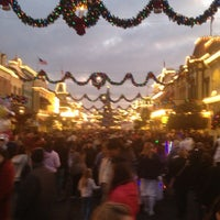 Photo taken at Main Street, U.S.A. by Plinio G. on 12/30/2012