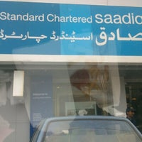 Photo taken at Standard Chartered Bank by Samia H. on 2/4/2013