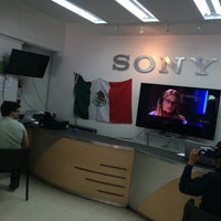 Photo taken at Sony Service Shop Roma by Miguel Asher S. on 6/21/2014