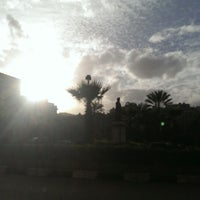 Photo taken at Lazoghly Sq. by Islam on 1/27/2014