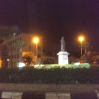 Photo taken at Lazoghly Sq. by Islam on 12/13/2013