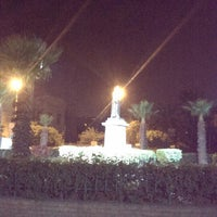 Photo taken at Lazoghly Sq. by Islam on 12/28/2013
