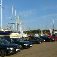 Photo taken at Burnham Yacht Harbour by Краси К. on 9/28/2013