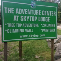 Photo taken at Skytop Lodge: Adventure Center by Brad C. on 6/24/2013