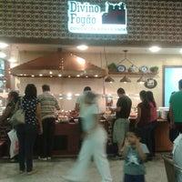 Photo taken at Divino Fogão Comida típica da Fazenda by Thais F. on 7/27/2013