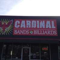 Photo taken at Cardinal Bands & Billiards by 🎵 Papa T 🎵 on 3/21/2014